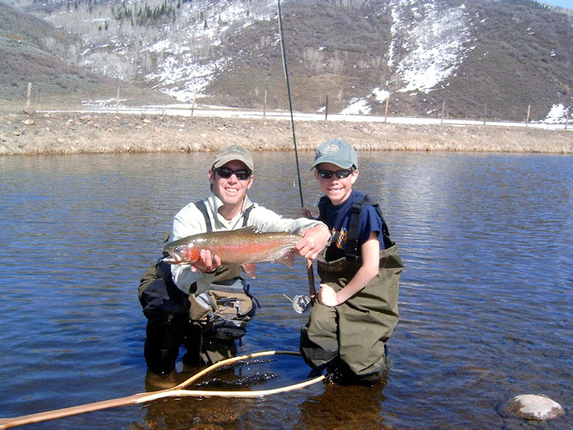 Bucking rainbow outfitters fishing gallery steamboat for Colorado springs fishing